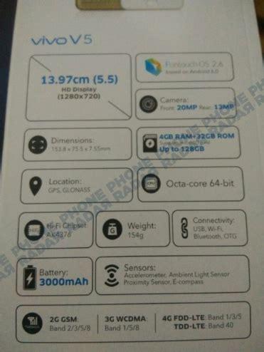 Harga Samsung Vivo V5 harga hp spesifikasi hp ter update harga vivo v5 dan