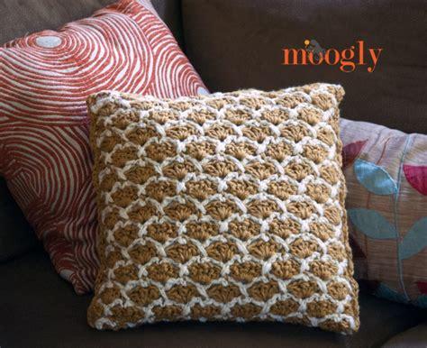lattice crochet pillow moogly