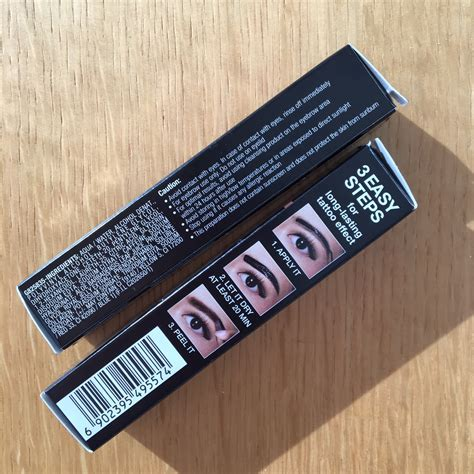 Maybelline Brow Gel Tint maybelline brow gel tint bellyrubz