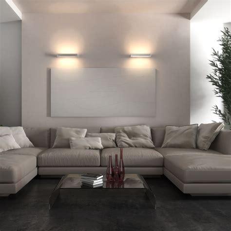 Illuminazione Soggiorno Led by Essenza Applique Led Biemissione Lade Parete Doppia