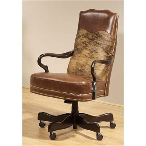 Cowhide Office Chair by Office Chairs Leather Swivel Chair And Chairs On