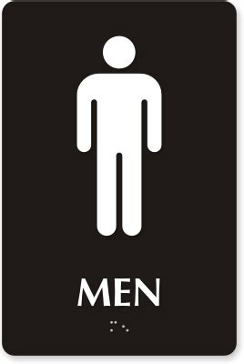 man bathroom sign restroom signs bathroom signs