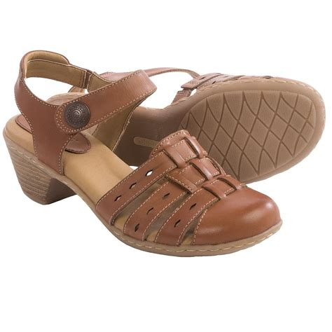 soft spot sandals softspots shelly leather sandals for save 53