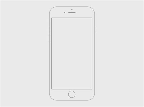 I Phone Sketches by Handmade Iphone 6 Wireframe Freebie Sketch