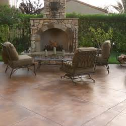 concrete patio stain ideas best 25 colored concrete patio ideas on