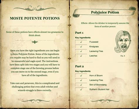 printable potion recipes latest 1324 215 1040 hp potions pinterest harry