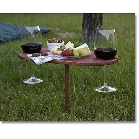 outdoor wine table woodworking