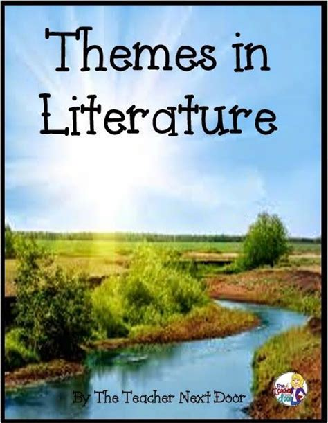 themes in literature pinterest 44 best teaching theme in literature images on pinterest