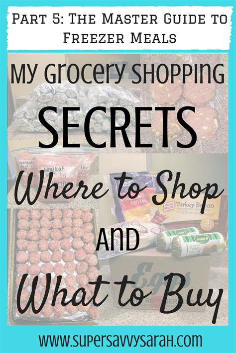 shopping guide where to buy my grocery shopping secrets where to shop and what to buy