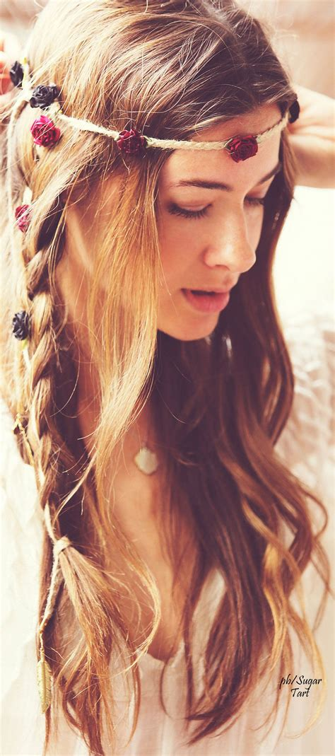 braided hairstyles hippie her beauty flowed like rivers after the rain wild and