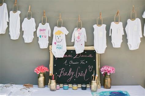 Onesie Painting Baby Shower by Paint The Onesies Baby Shower Bedtime Stories Baby