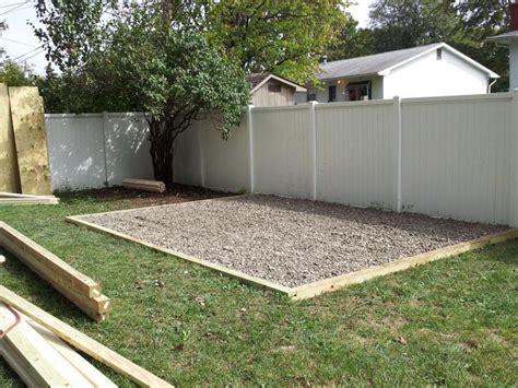 similar   build  gravel base   storage shed  shed plan
