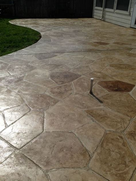 sted concrete flagstone home design ideas pictures remodel and decor