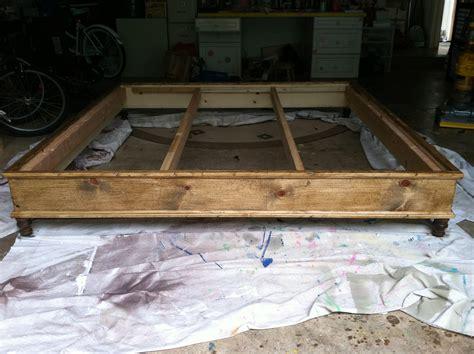 king platform bed plans bed plans diy blueprints
