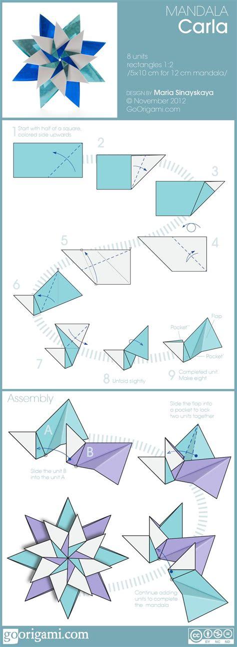 Modular Origami Diagram - de 25 bedste id 233 er inden for modular origami p 229
