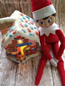 on the shelf ideas gingerbread house