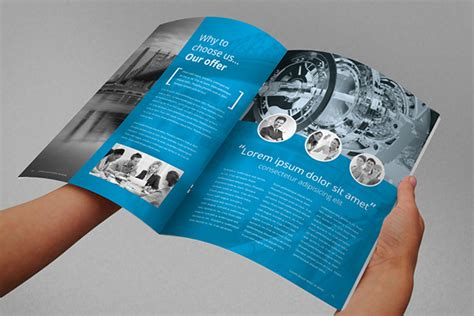 indesign report template annual report brochure indesign template on behance
