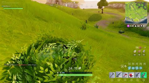 Bush 5 1 Day by Wolfbrain Fortnite Bushes Op Hiding From Entire Squad