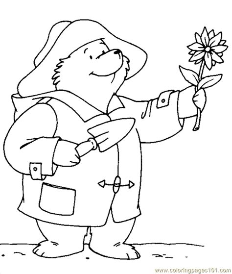coloring pages paddington bear 0005 cartoons gt paddington