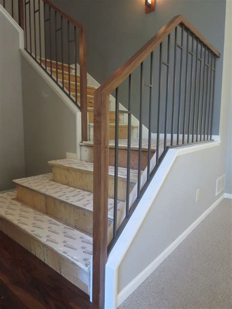 interior railings and banisters wood stair railings interior best wrought iron railings