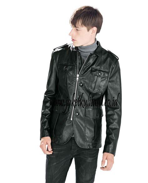 jaket kulit safari asli pria a272 jual jaket kulit asli