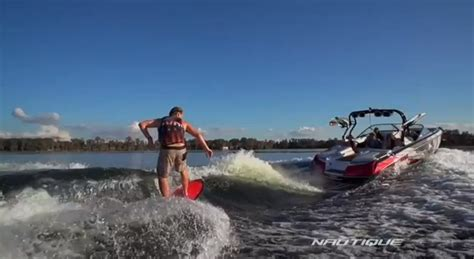 tige boats party wave nautique surf system theskimonster