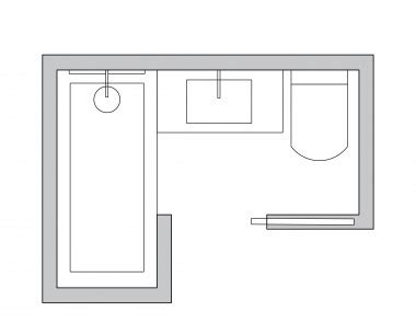 l shaped bathroom plans small bathroom layout ideas from an architect to optimize