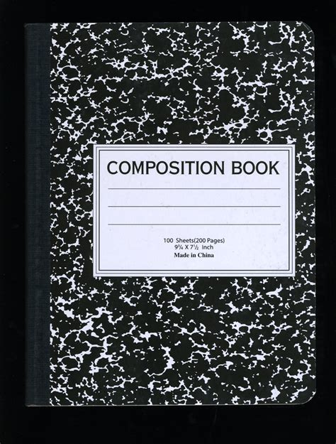 composition book template composition books vernacular typography