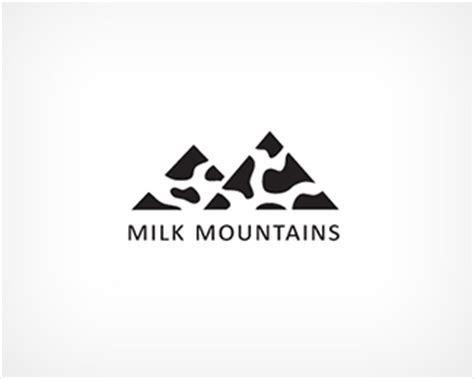 logo design for milk milk mountains designed by joannamalik brandcrowd