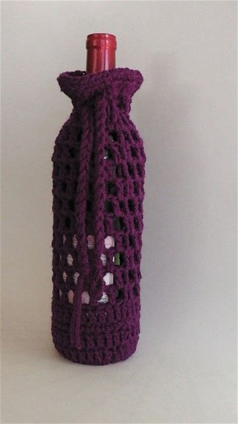 pattern for wine bottle holder bottle handmade and cases on pinterest