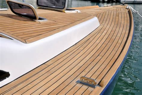 marine teak deck installation repairs maintenance on