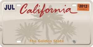 Creative Vanity Plates California License Plate Template Image Mag
