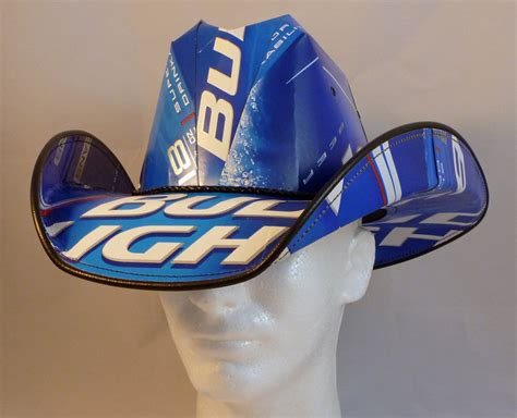 Bud Light Hats Beer Box Cowboy Hats Made From Recycled Bud Light Beer Boxes