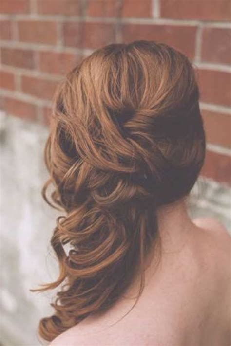 Hairstyles To The Side For Bridesmaids | 25 best bridesmaid hairstyles for long hair