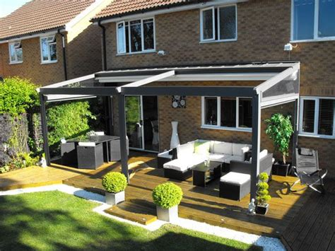 Awnings Uk by Best 25 Patio Awnings Ideas On