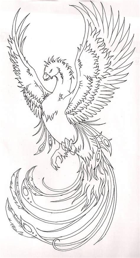 phoenix tattoo vorlagen kostenlos phoenix 2 by terminatress on deviantart