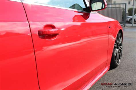 Avery Folie Schwarz Glanz by Audi S 5 Folierung