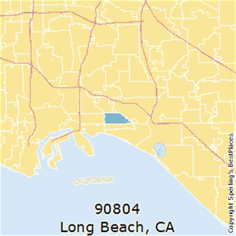 zip code map long beach best places to live in long beach zip 90804 california