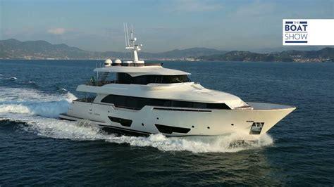 yacht the boat show eng ferretti custom line navetta 28 yacht tour the