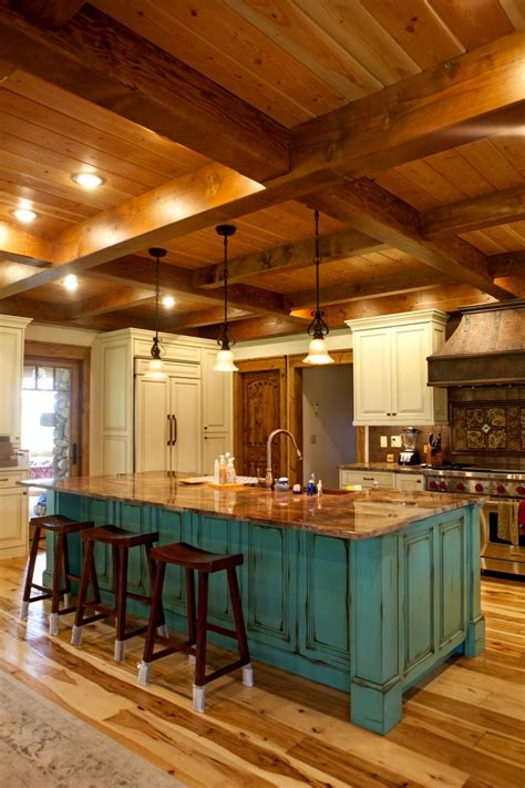 best kitchen interiors best 25 log home kitchens ideas on log cabin
