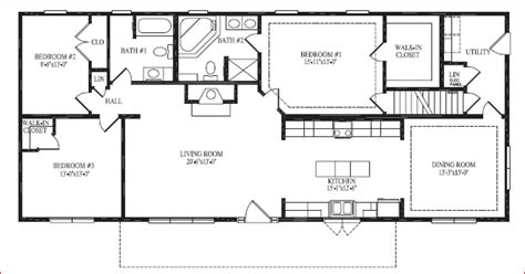 Ranch House Floor Plans With Basement by Showcase Homes Of Maine Bangor Me