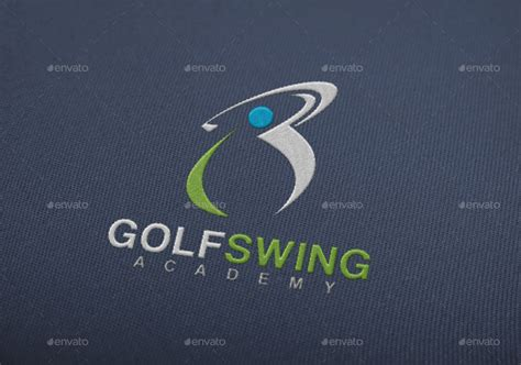 golf swing logo golf swing logo by maximumdesignstudio graphicriver
