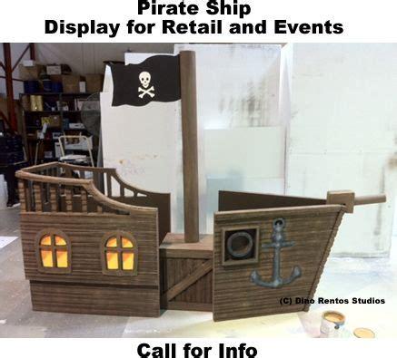 house boat props cardboard pirate ship props custom pirate ship foam prop