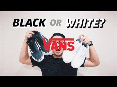 Safetygirl Sneakers Putih Hitam sneakers hitam atau putih how to wear bahasa indonesia