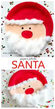 Santa Paper Plate Craft - 1000 ideas about paper plate crafts on paper