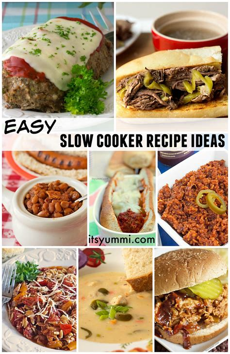 easy slow cooker recipe ideas its yummi