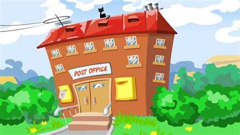 Small Picture Post by Letters And Envelopes Coming To The Post Office Animated