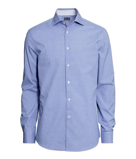 Premium 01 Quality Wadezig T Shirt h m shirt in premium cotton in blue for lyst
