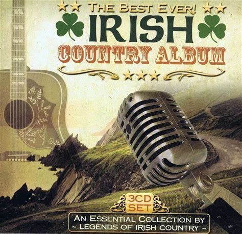 The Best Ever Irish Country Album Box Set 3 CD Various