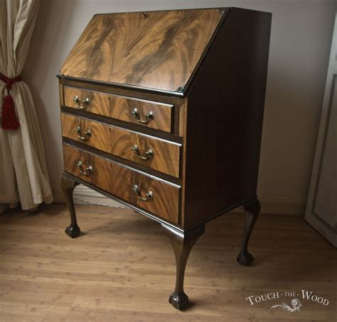 shabby chic writing desk bureau no 15 touch the wood